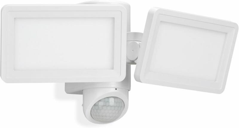 LED-Sensor-Außenleuchte, 18W, 900lm, 340°, weiß 18 W | 340 ° | weiß | 900 lm
