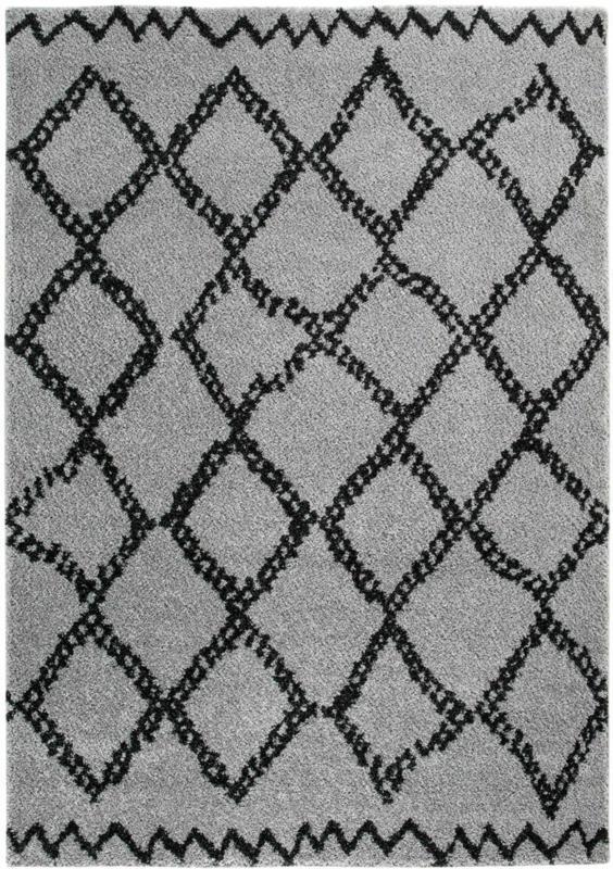 "Teppich ""Mia"" 67x140 cm, grau  grau | 140x67 cm"