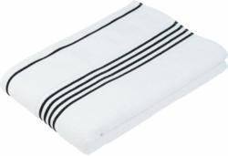 """Frottier-Duschtuch """"Rio"""", 70x140 cm, schwarz, weißgrundig 70 cm   weißgrundig   schwarz   140 cm"""