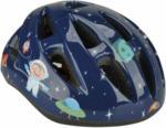 "HELLWEG Baumarkt Kinder-Fahrradhelm ""Space"", blau, Gr.XS/S"
