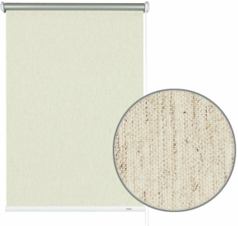 "Seitenzugrollo ""Thermo"", 82x180 cm, Struktur natur 82x180 cm"