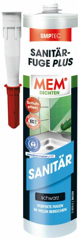 """Sanitär-Fuge """"PLUS"""", schwarz, 290 ml schwarz"""