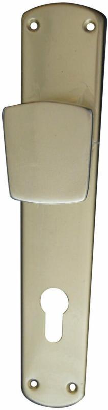 Knopflangschild für Haustür, 92 mm