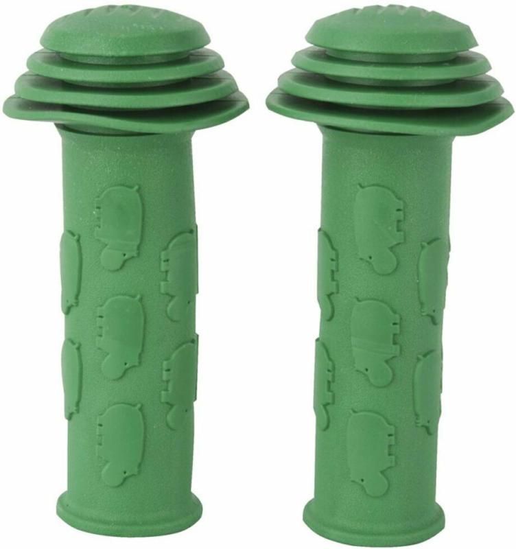 """Lenker-Griffe """"Kids"""", grün, 2 Stück"""
