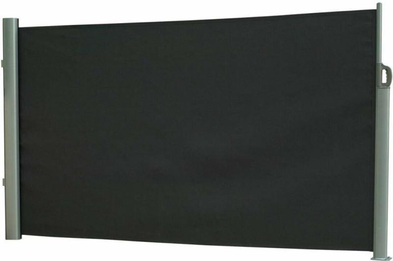 Seitenmarkise, Höhe 120 cm, anthrazit