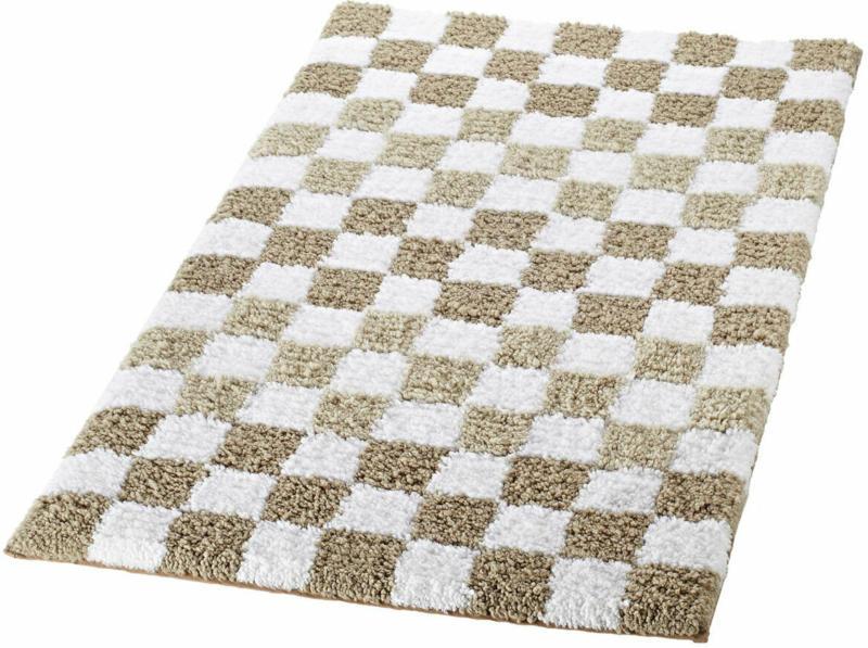 "Teppich ""Grand Prix"" 55x85 cm, beige, Polyester"