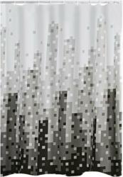 "Duschvorhang ""Skyline"", Textil, 180x200 cm"