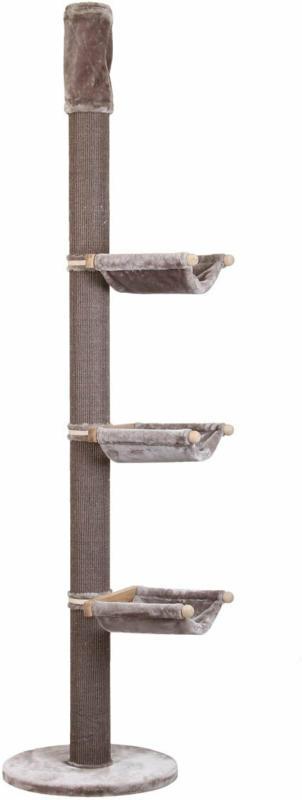 """Kratzbaum """"Fable"""", 60x60x245 cm, warmgrau"""
