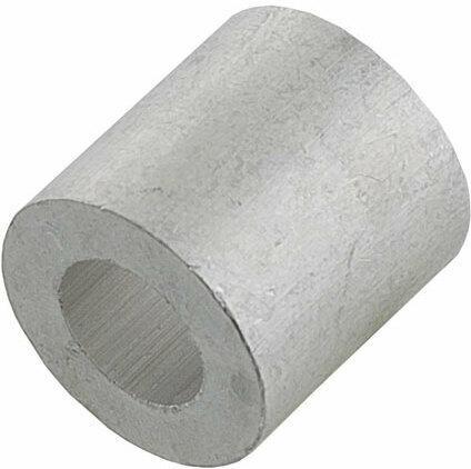 Presskappe, Aluminium, 3mm, 10 Stück