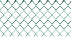 Maschendraht-Geflecht grün, Länge 2500 cm, Höhe 125 cm 125 cm