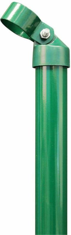 Strebe mit Schelle, grün , 40/2000 mm