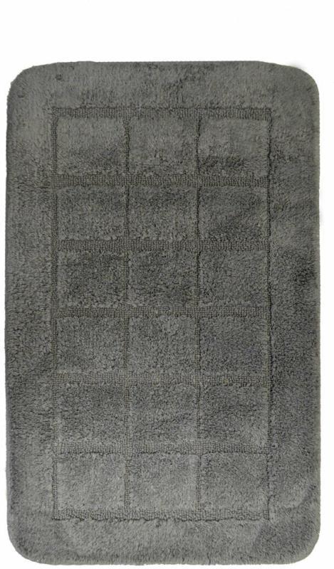 """Teppich """"Delhi"""", 50x80 cm, anthrazit, Polyester"""