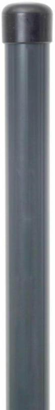 Zaunpfosten 1500 mm für Einstabgittermatten, für Fix-Clip-Pro und Bekafor, anthrazit 150 cm