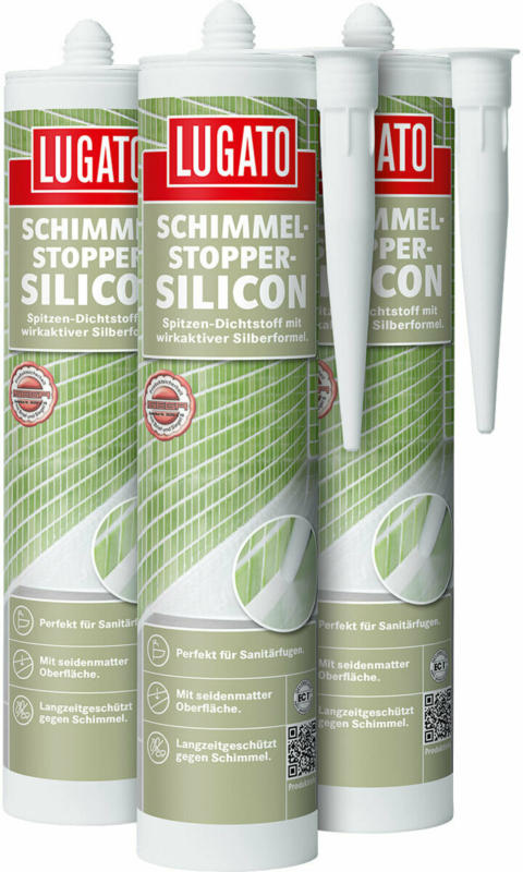 "Silicon ""Schimmel-Stopper"", grau, 310 ml"