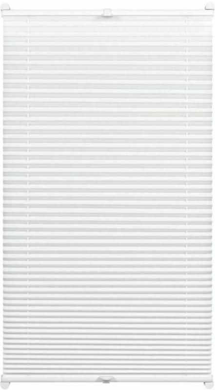 """Plissee """"Easyfix"""", mit 2 Bedienschienen Plissee, 45x130 cm, weiß 45x130 cm"""