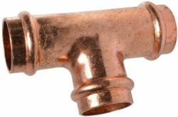 T-Stück, Pressfiting für Kupfer, 15 mm, V-Kontur, 1 Stück 15 mm | 1