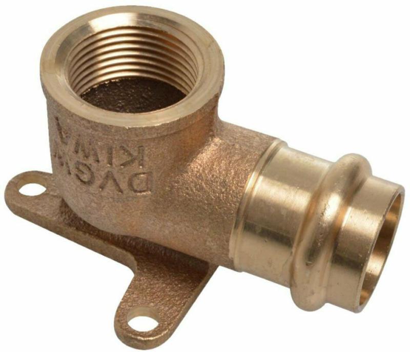 Wandscheibe, Pressfitting für Kupfer, 18 mmx1/2IG, V-Kontur 18x1/2 mm