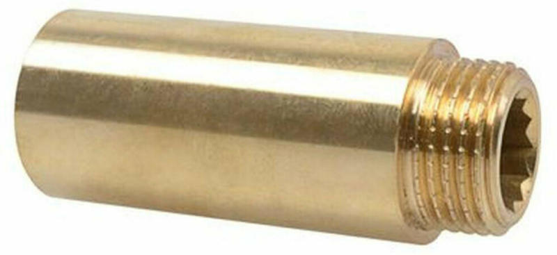 """Hahnverlängerung ½"""" x 100 mm, blank"""