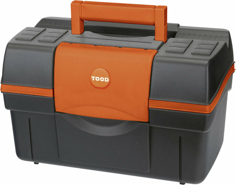 """Werkzeugkoffer """"Magnus Classic 16-25"""", schwarz-orange"""