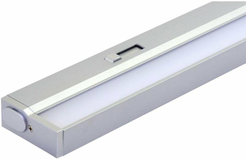 "LED-Unterbauleuchte ""Conero-DIM"", 42,4x5,3x2,9cm, silber silber | 42,4x5,3x2,9 cm"