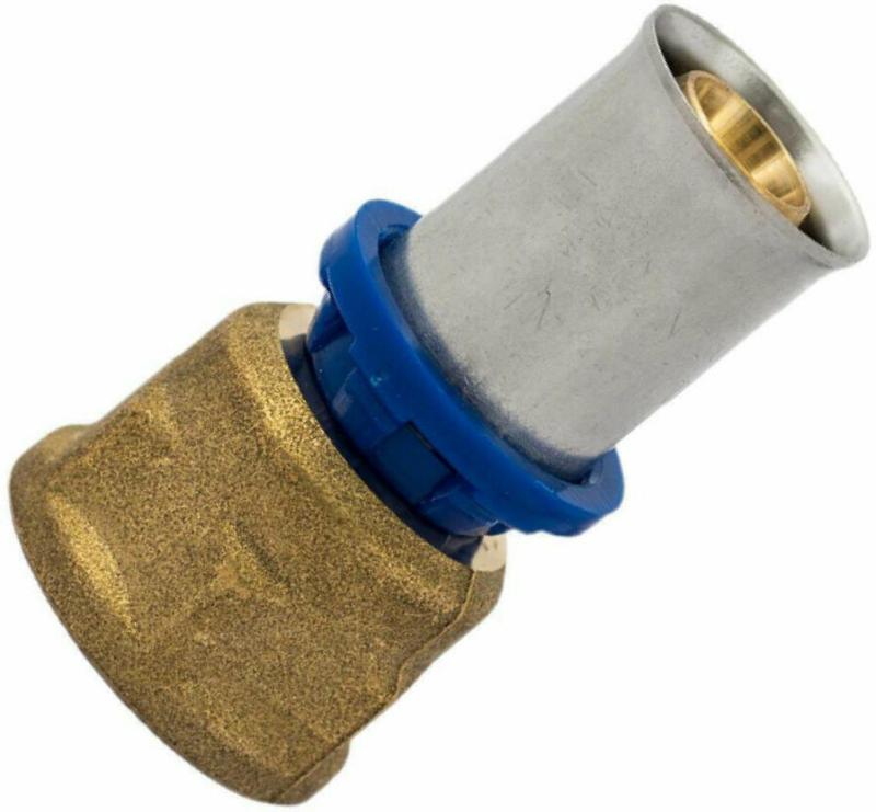 Übergangsstück, Pressfitting für Mehrschicht-Verbundrohr, 26 mmx3/4IG 26x3/4 mm