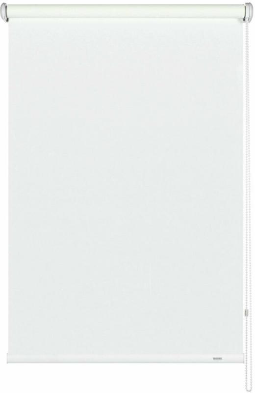 Seitenzugrollo 102x230 cm, Uni weiß