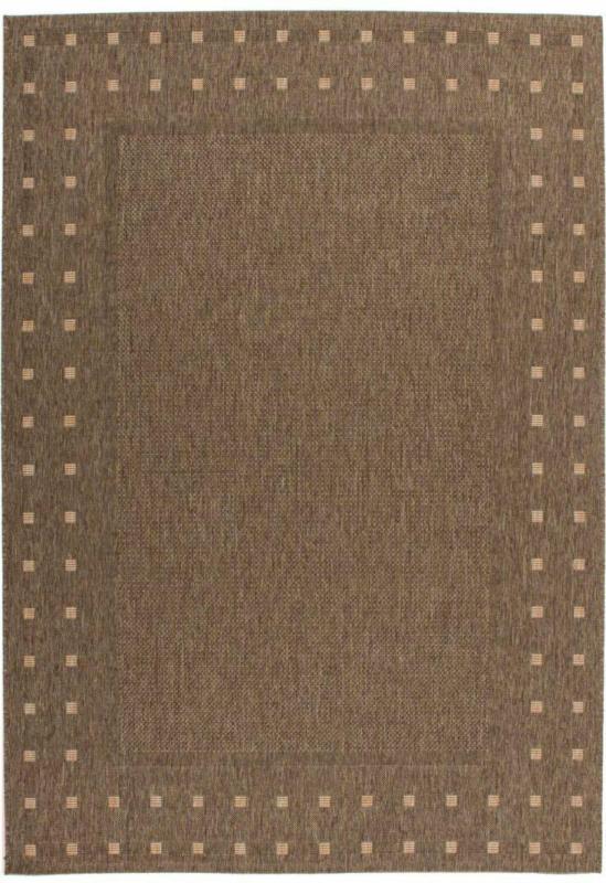 """Flachflorteppich """"Sweden"""" - Halmstad Kaffee/Natural, 160x230cm 160x230 cm"""