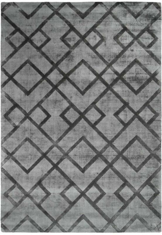 "Kurzflorteppich ""Luxury 310"" Grau/Anthrazit, 120x170cm 120x170 cm"