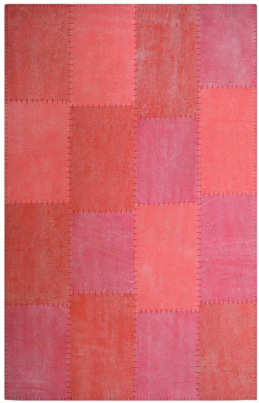"""Vintage-Teppich """"Lyrical 110"""" Multi/Rot, 80x150cm 80x150 cm"""