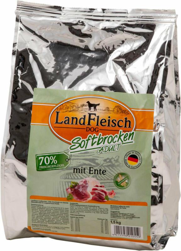 Dog Softbrocken mit Ente 1,5kg 1500 g