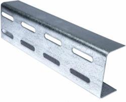 "Aussteifungsprofil ""UA 75"", 3,5 m, zweireihige Lochung 2 mm 350"