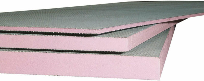 Uni-Fliesenträgerplatte 60x600x1300 mm, beschichtet 0,6 cm