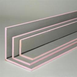 Uni-Fliesenträgerplatte 2600x150x150 mm, L-Winkel 15 cm