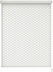 "EASYFIX Doppelrollo ""Cut-Out"", Kreis, ohne Bohren, weiß 75x150 cm"