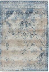 """Kurzflorteppich """"Antigua 500"""", creme/blau 120x170 cm"""