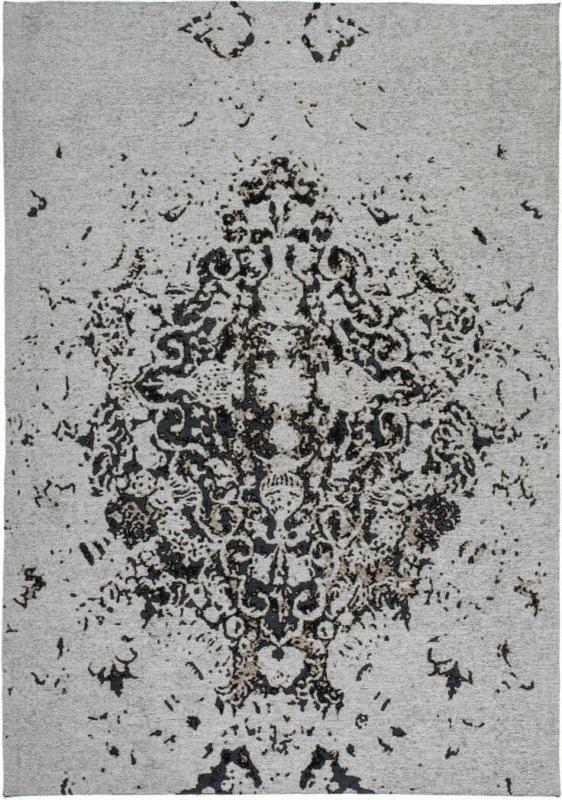"Vintage-Teppich ""Ballerina 700"", grau 120x170 cm"