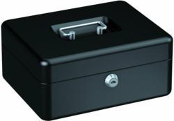 """Geldkassette """"GK 10"""", 9x20x16cm, schwarz schwarz"""