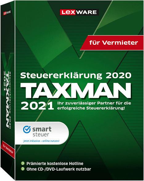 TAXMAN für Vermieter 2021