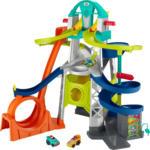 MediaMarkt FISHER PRICE Little People Action Rennbahn Fahrzeug-Spielset Autospielset, Mehrfarbig