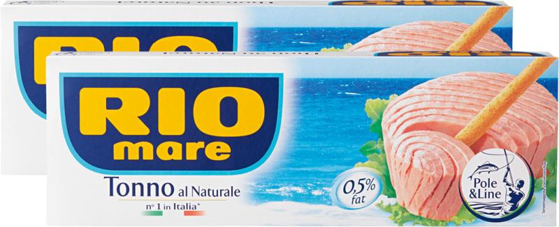 Thon Rio Mare, nature, 2 x 3 x 56 g