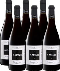 A Mano Primitivo di Puglia IGT, 2020, Puglia, Italia, 6 x 75 cl