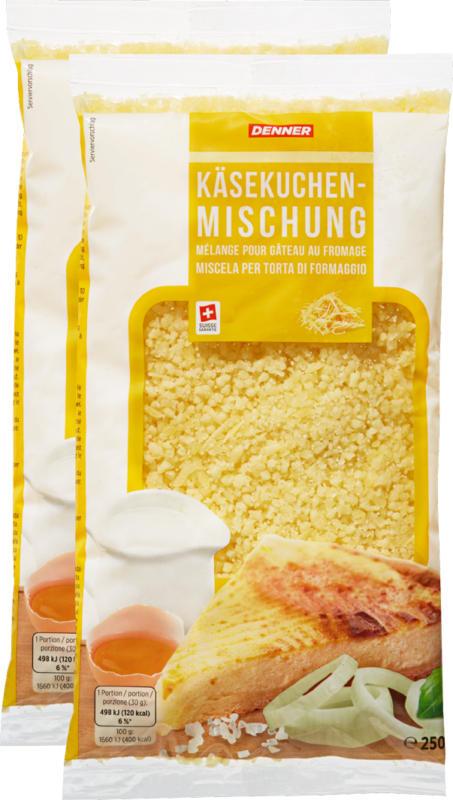 Denner Käsekuchenmischung, 2 x 250 g