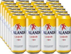 Birra lager Calanda, 24 x 50 cl
