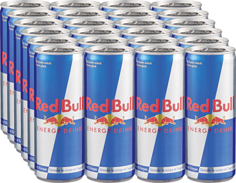 Red Bull Energy Drink, 24 x 25 cl