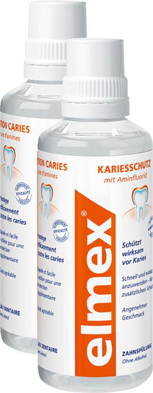 Elmex Zahnspülung , Kariesschutz, 2 x 400 ml