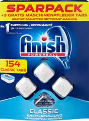 Tablettes lave-vaisselle Classic Finish, 154 tablettes + 3 tablettes d'entretien machine gratuites