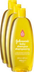 Shampooing pour bébé Johnson's, 3 x 300 ml