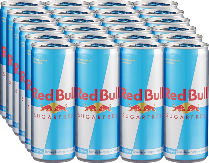 Red Bull Sugarfree, 24 x 25 cl