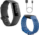 MediaMarkt FITBIT Charge 4 Limited Edition Gift Pack - GPS-Fitness-Tracker (Schwarz)