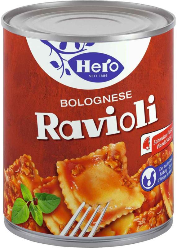 Hero Ravioli Bolognese 870 g -